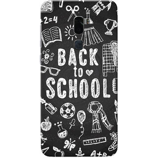 Coolpad Cool 1 Case, Back To School Black White Slim Fit Hard Case Cover/Back Cover for Coolpad Cool 1
