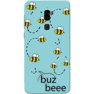 Coolpad Cool 1 Case, Buzz Bee Sky Blue Slim Fit Hard Case Cover/Back Cover for Coolpad Cool 1