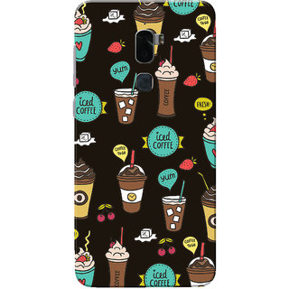 Coolpad Cool 1 Case, Iced Coffee Dark Brown Slim Fit Hard Case Cover/Back Cover for Coolpad Cool 1
