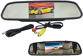 4.3 Inch TFTScreen Rear View Monitor Car Reverse Display For Backup Camera For Chevrolet Spark