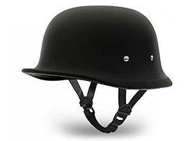 MOCOMO German Style Half Helmet (Matte Black) World War 2 Style