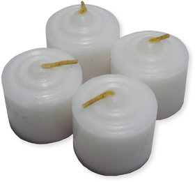 Vanilla Scented Aromatherapy Collection Pillar Candles Gift Set  (Pack Of 4)