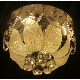 (400mm)jhoomar ceiling light decorative chandelier with three color and sound system15