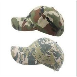 MOCOMO Military Cotton Multicolor Cap Head Wear For Men Women