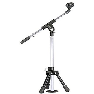 G.S. high-quality Folding Microphone Stand With Holder- Small