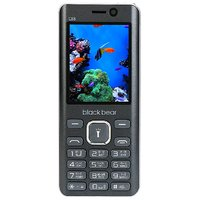 Blackbear Feature Mobile Phone C-88 Grey Color Big Torc