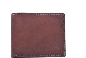 Creative Edge Maroon Men's Leather Wallet