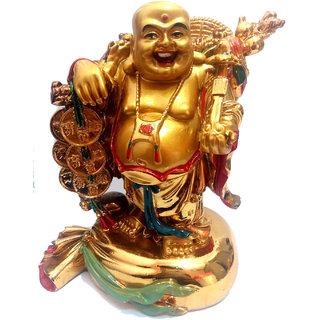 ReBuy Feng Shui Laughing Buddha Happyman With Money Bag Chinese Fengshui Buddha