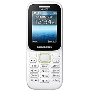 Samsung Guru Music 2 (Dual Sim, 2.0 Inch Display, 800 Mah Battery, White)
