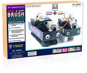 Mega  Mini Brush Robot KIT 2-in-1 Pack