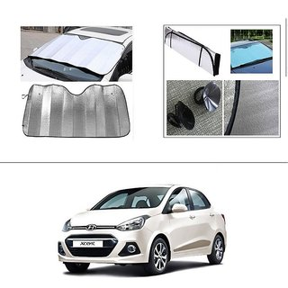 Buy Autostark Car Front Windshield Sunshade Double Side Silver