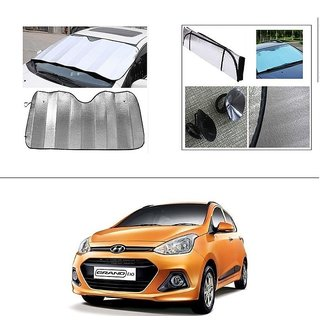 Buy AutoStark Car Front Windshield Sunshade Double-Side Silver Bubble  Cotton Rear Sun Shade For Hyundai Grand I10 Online - Get 53% Off 41e3bd7261a
