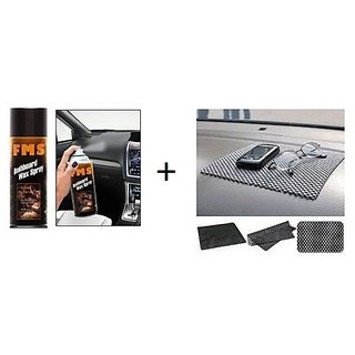 love4ride Combo Car Dashboard Non Slip mat + Car Dashboard F1 Spray