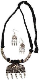 oxidized necklace set