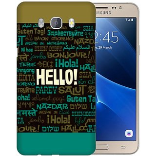 Printland Back Cover For Samsung Galaxy J7 (2016)