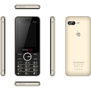 Blackbear i7  (Dual Sim, 2.4 Inch Display, 1450 Mah Battery, Gold)