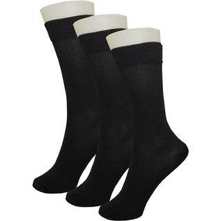 Stonic New Pack of 3 Black Full length Socks
