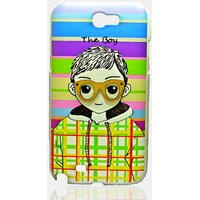 COCORONI The Boy & Girl Designer Hard Back Shell Cover Case For Samsung Note2