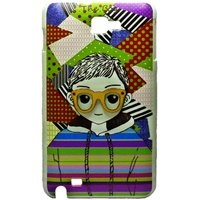 COCORONI The Boy & Girl Designer Hard Back Shell Cover Case For Samsung Note