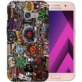 Printland Back Cover For Samsung GalaxyA3(2017)