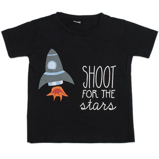 Pikaboo Make Today Amazing Printed Kinitted Cotton T Shirt For Boy (6-12 Months)