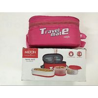 Unboxed Milton TRAVEL MATE Pink 6 months Seller Warranty