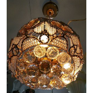 crystal jhoomer decorative chandelier