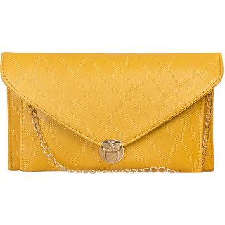 6e4f59d7c61a Buy Louise Belgium Premium PU Leather Women Sling bag - Ladies Stylish Bag    Bag for Girls Yellow