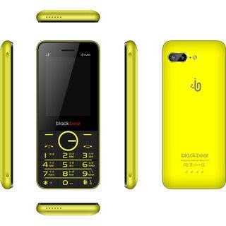 Blackbear i7  (Dual Sim, 2.4 Inch Display, 1450 Mah Battery, Yellow)