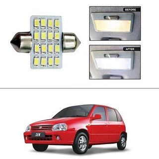 AutoStark 16 SMD LED 31mm Dome / Roof Light White -Maruti Suzuki Zen