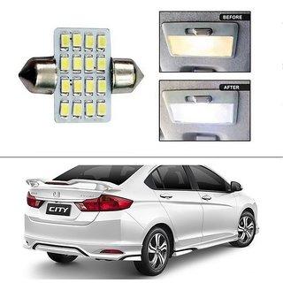 AutoStark 16 SMD LED 31mm Dome / Roof Light White -Honda City (2014 Upwards)
