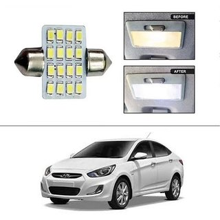 AutoStark 16 SMD LED 31mm Dome Roof Light White Hyundai Verna Fluidic