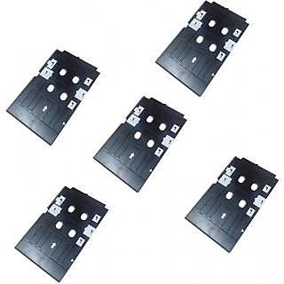 Set of 5 PVC ID Card Tray For InkJet Printer Used For Epson L800, L805, L810, L850, R280, R290, T50, T60, P50, P60 Prin