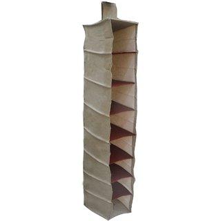 Beige Shoe Rack