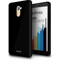 Infinix hot 4 pro Black back cover premiume matte case by vkr cases