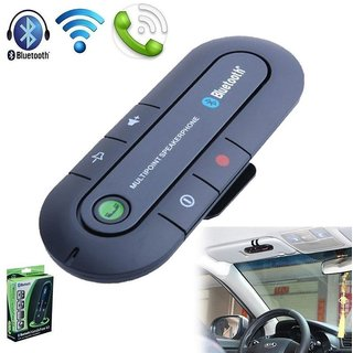 Multipoint Wireless Bluetooth Hands-Free Speakerphone Car Bluetooth Kit