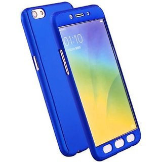 online store 2b612 a291a SK IPaky 360 Full Protection PC Front back cover case oppo A71 (Royal Blue)