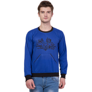 Kristof Printed Round Neck Sweatshirt