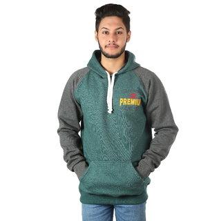 Kristof Green Sweatshirt With Hood