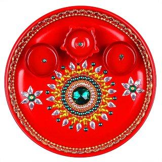Decorative Puja Thali