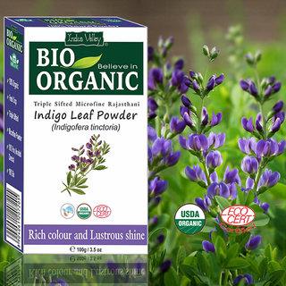 Buy Natural Bio Organic Pure Indigo Leaves Powder ...