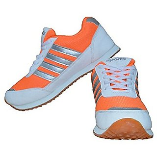 Port Womens Orange Sport Shoes
