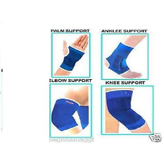 Combo of knee Elbow Palm and Ankle support pair CodEdS-4497