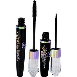 ADS 2IN1 Mascara Eyeliner 18 ml  (Black)