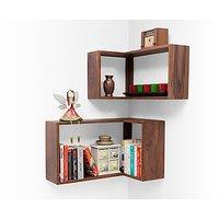 Corner Shelves - Set Of Two