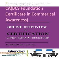 CA(BCS Foundation Certificate In Commerical Awareness)