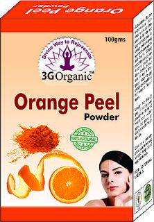 Orange Peel Powder Organic Face Pack 50 Gms Combo Pack From 3G Organic