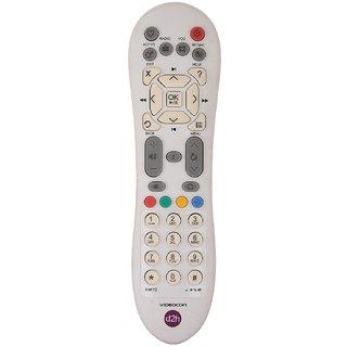 VIDEOCON D2H REMOTE CONTROL FOR VIDEOCON NON HD SET TOP BOX - BEST QUALITY TD-R2