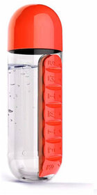 Bentag pill vitamin organizer water bottle