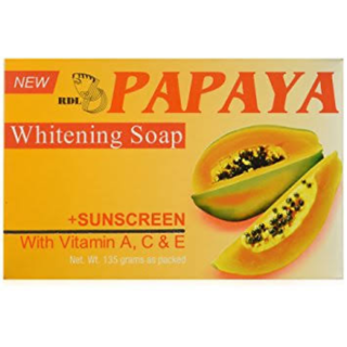 Oringinal RDL whitening papaya soap with sunscreen and vitamin A E D